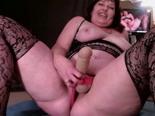 V550 Pegging Robert with my huge dildo