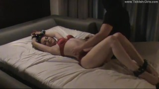 Megan Loxx Tickled on Her Upperbody Again – (partial clip)