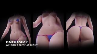 PMV / HMV All Night (Newest Overwatch SFM)