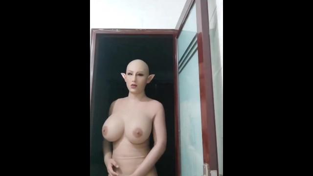 Porn female mask Long Female