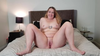 CASTING CURVY: 40 yr old thick PAWG mom tries out for porn in modeling audition