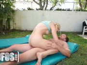 Mofos - Blonde Braceface Anastasia Knight Begs Kyle Maso To Fuck Her With His Big Dick