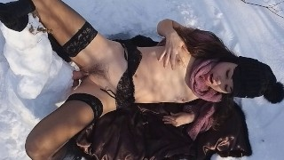 Public EXTREME CHEATING in front of CUCKOLD# Thank You MrSNOWMAN FOR 3 SQUIRTING ORGASMS # 日本国立公