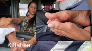 免费的Xxx视频 - Prev基法在乘客公共巴士脚诱惑脚交上做脚交