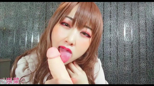 Japanese amateur beauty joi ejaculation massage with handjob and footjob!