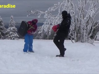 Mixed boxing and mixed wrestling in the Pilat massif