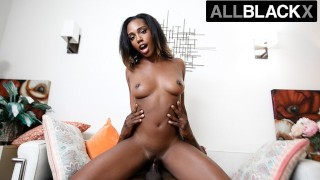 AllBlackX – Sexy Lacey London Takes A Thick Dick & Begs For More