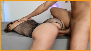 Young Beautiful Amateur Couple Passionate Fuck Doggystyle and Cowgirl   Angel XXX Diabla
