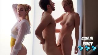 Instagram model seduces cameraman