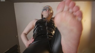Pov Part 2 I will humiliate you and spit in your face Lick my feet slave