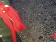 Homemade : MILF Francaise mariée libertine branle une queue en forêt et recoit le sperme sur son c