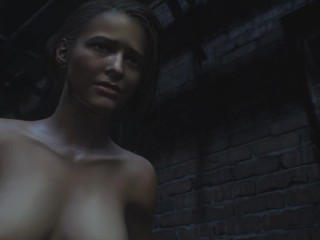 The naked and hot beauty Jill from the game resident evil 3 | Porno Game 3d