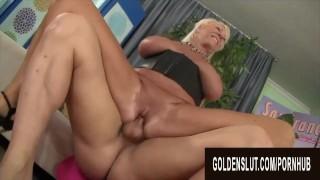 Golden Slut - Older Sluts Who Know How to Ride Compilation