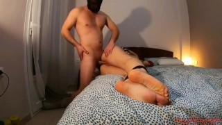 He surprised me by acting out my fantasy as a sex slave