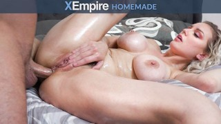 HardX – Busty Blonde Loves Being Fucked Ass To Pussy