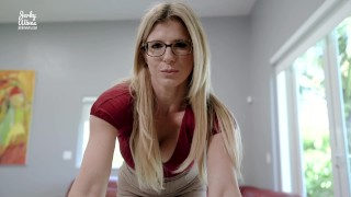 Cheating Step Mom Craves Her Step Sons Huge Cock – Cory Chase