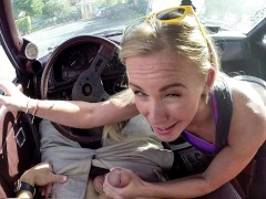 XXX PAWN - Blonde MILF Tries To Sell Car, Ends Up Selling Herself!