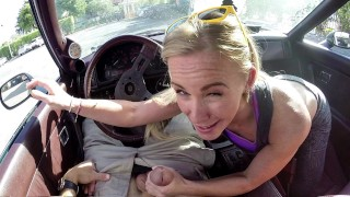 XXX PAWN – Blonde MILF Tries To Sell Car, Ends Up Selling Herself!