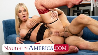 Naughty America – Rachael Cavalli gets fucked by her assistant!!