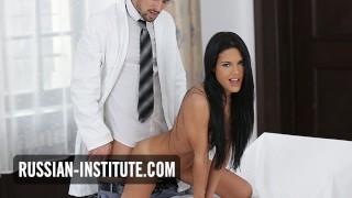 Latina Apolonia Lapiedra passionate sex with doctor