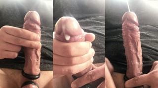Best Porn Movies - Edging My Bound Cock To A Huge Cumshot In The Sunshine