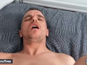 Men - Hunk Joel Mason Is Behind On Rent So He Spreads His Asscheeks & Sucks Some Cock For Cash