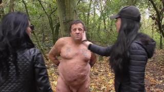 slave quasimodo get face slapping by german brat girls