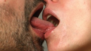 Softcore – Kissing celebrating Love – Saliva Fetish