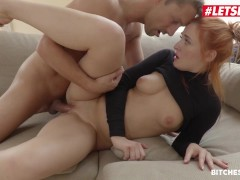 BitchesAbroad - Eva Berger Russian Redhead Seduced And Fucked By Foreign Stranger - LETSDOEIT