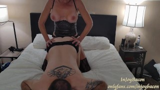 Passionate Amateur Femdom Pegging - Strapon Suck - SWITCH - Hard Rough WET PUSSY FUCK- F/V ONLYFANS