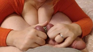 blowjob turns into extreme ballbusting