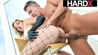 HardX – Big Booty Beauty Katie Kush's Wet Pussy Pounded