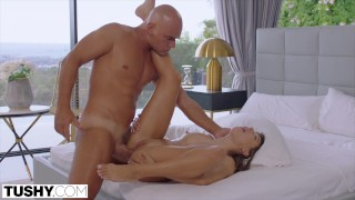 TUSHY Good girl Talia has intense anal with stranger