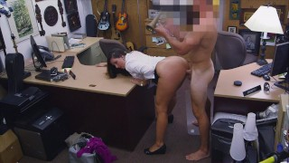 XXX PAWN – Thief Madisin Lee Confesses To Her Crime And Makes An Honest Buck