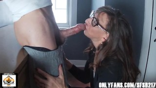 Sexy Granny Swallows Cum From A Big Cock