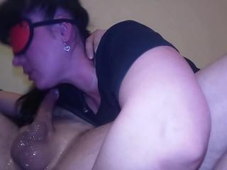Juicy blowjob, Frankie sucks deep