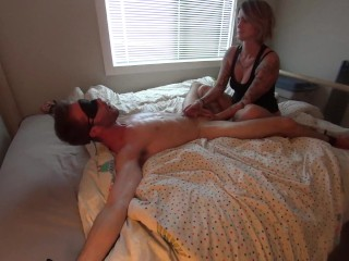Bound Boyfriend Get's Teased to INSANITY After Losing a Bet! (FULL) 1080p HD