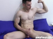 Australian With a Hot Vascular Body and Cock To Die For - Big Pecs, Biceps & Muslces Galore
