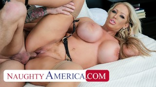 Naughty America – Alura Jenson's experience gives Quinton the best fuck of his life