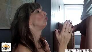 Sexy Granny Gives Nice Wet Blowjob Swallows A Big Juicy Load