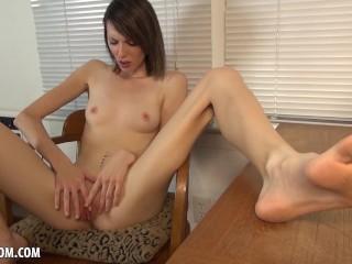 Karli Stone Strips Her Clothes To Masturbate For You