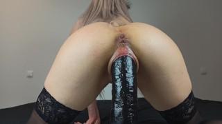 Slutty Babe cums hard while thinking about her BBC Boyfriends 4K