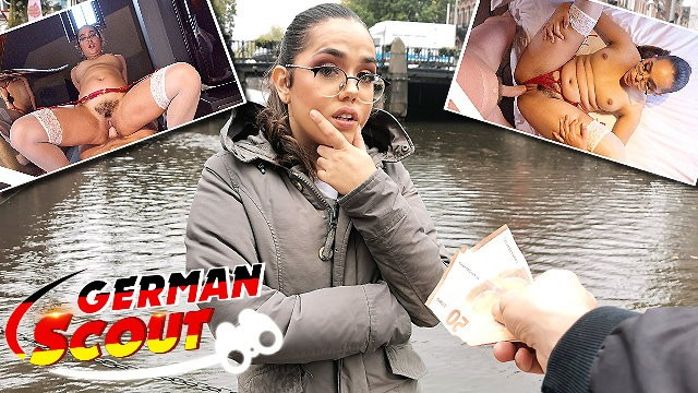 GERMAN SCOUT - TINY CURVY NERD LATINA GIRL I PICKUP AND ROUGH FUCK I REAL STREET CASTING