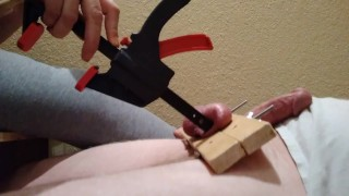 friday ballbusting part 2 clamp