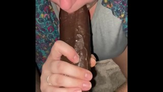 sucked his dick so good it made me squirt!