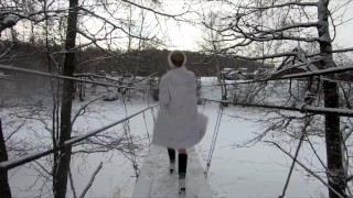 Russian Nude Girl Miss4motivated in forest