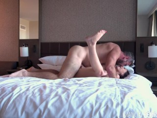 Busty Brunette Violet Starr Meets Manuel In His Hotel Room For An Afternoon Quickie