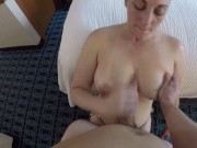 Melanie Hicks Sucks My Cock and Gets Her Big Juicy Tits Fucked