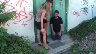 balkan girls spapping slave joschi outdoor