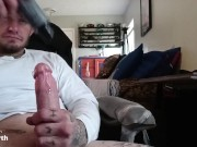 Chad Bravo loves to stroke his cock